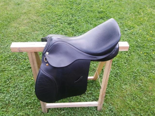 English saddle, a.k.a. butt rag
